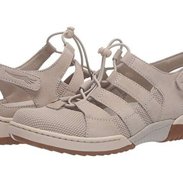 Dansko Riona (Ivory Suede) Women's Shoes