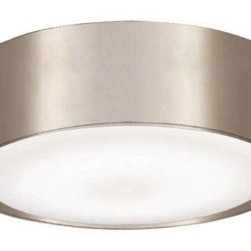 Minka Aire Simple 1-Light Brushed Nickel Wet LED Ceiling Fan Light Kit   K9787L-BNW