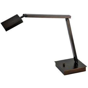 Access Lighting 72005LEDD TaskWerx 1 Light LED Boom Arm Desk Lamp Bronze Lamps Desk Lamps Boom Arm Lamps