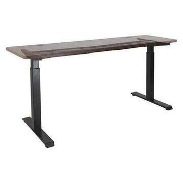 ALERA HT2SSB Adjustable Table,2 Stage,Black