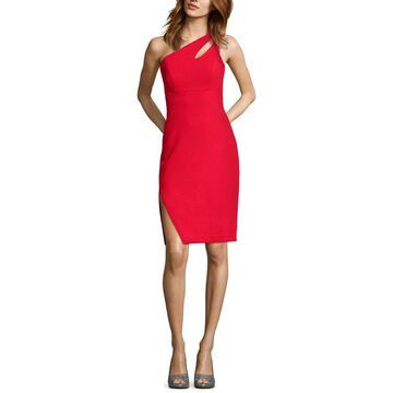 Xscape Womens Party Dress Cut-Out One Shoulder - 14