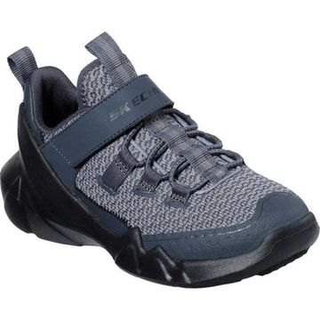 Skechers Boys' D'Lites DLT-A Interserge Sneaker Gray/Charcoal