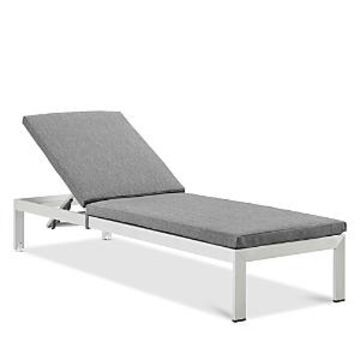Modway Shore Outdoor Patio Mesh Chaise with Cushions