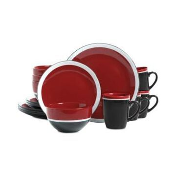 Gibson Color Eclipse 16-Pc. Dinnerware Set, Service for 4