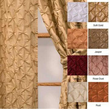 Softline Zanzibar Rod Pocket 108-inch Curtain Panel - 48 x 108
