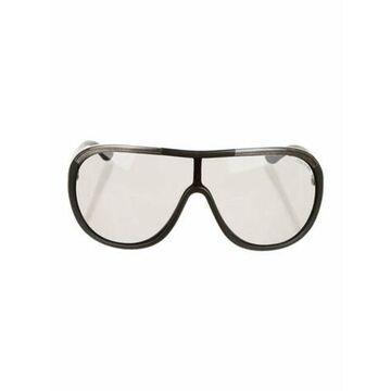 Shield Tinted Sunglasses Black