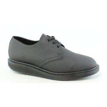 Dr. Martens Mens Torriano Reflective Black Oxford Dress Shoe Size 7