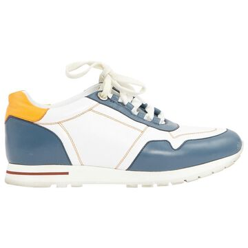 Loro Piana Multicolour Leather Trainers