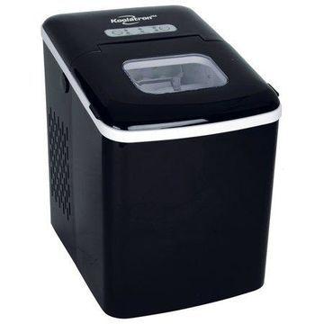 Koolatron KIM26B Compact Countertop Ice Maker with Digital Controls and LED Indicators
