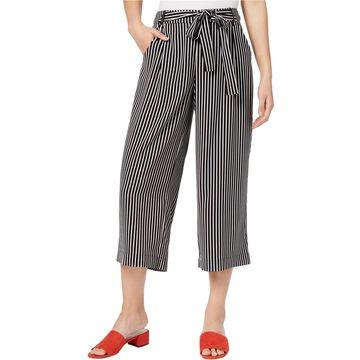 maison Jules Womens Tie-Front Culotte Pants