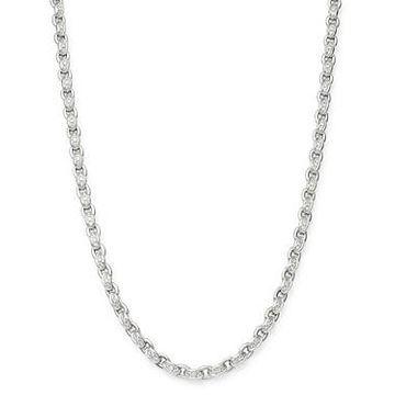 Roberto Coin 18K White Gold Amuletto Diamond Chain Collar Necklace, 16.5