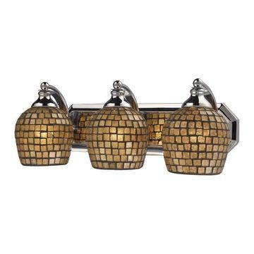 Westmore Lighting Homestead 3-Light Chrome Traditional Vanity Light Bar