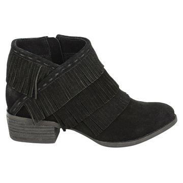 Naughty Monkey Womens Kepang Leather Closed Toe Ankle Fashion