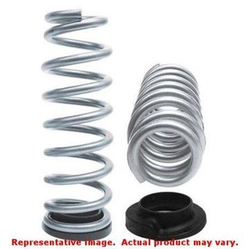 Belltech 4756 Lowering Springs For Dodge Ram 1500, Powdercoated Silver, Front
