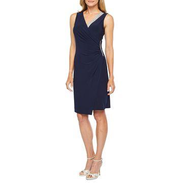 MSK Sleeveless Embellished Sheath Dress
