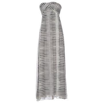Armani Exchange Grey Polyester Dresses