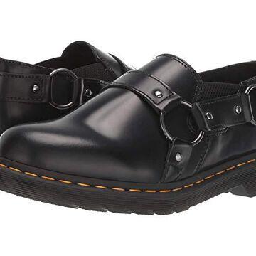 Dr. Martens Gilbey (Black Polished Smooth) Shoes