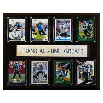 C&I Collectables NFL 12x15 Tennessee Titans All-Time Greats Plaque