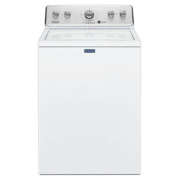 Maytag 3.8-cu ft Large Capacity Top-Load Washer with Deep Fill Option - White