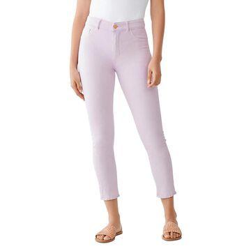 DL1961 Womens Farrow Ankle Jeans Skinny Stretch - Viola