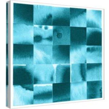 Ptm Images, Blue Squares 2 Decorative Canvas Wall Art