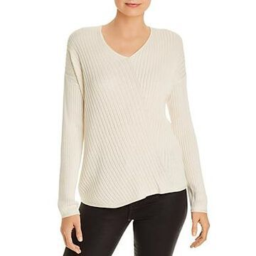 Eileen Fisher Directional Ribbed Sweater