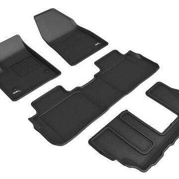 3D Maxpider Kagu Floor Mats, Floor Mat Set - KAGU Floor Mat - PN L1CD02201509 in Black