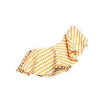 Onia X WeWoreWhat Positano Cabana Stripe Bikini Top
