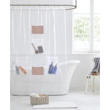 "Clorox Five-Pocket 72"" x 72"" Shower Curtain Liner Bedding"
