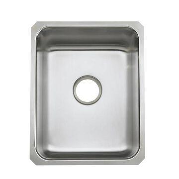 KOHLER Undertone Undermount 15.75-in x 20.37-in Stainless Steel Single Bowl Kitchen Sink   3163-NA