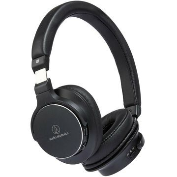 Audio-Technica ATH-SR5BT Wireless On-Ear High-Resolution Headphones (Black)