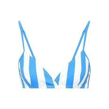 Solid & Striped The Brigitte Striped Triangle Bikini Top
