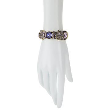 Heidi Daus Cushions of Kent Crystal Bangle Bracelet