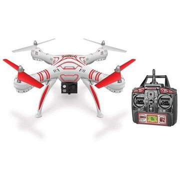 World Tech Toys Wraith SPY Drone 4.5-Channel 1080p HD Video Camera 2.4 GHz Remote Control Quadcopter