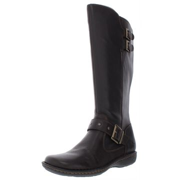 B.O.C. Womens Oliver Leather Knee-High Riding Boots