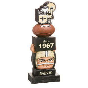 Evergreen New Orleans Saints Vintage Tiki Totem