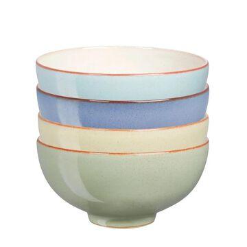 Denby Heritage Set of 4 Assorted Rice Bowls