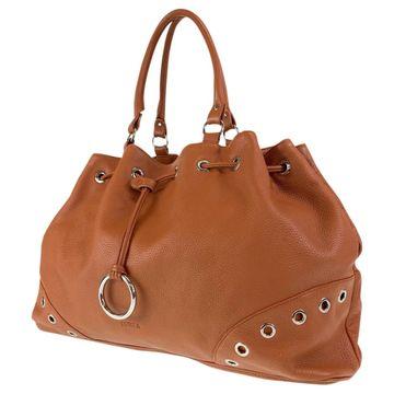 Furla Camel Leather Handbags