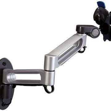 ''Balt Dual Arm Wall Mount for Flat Panel Monitors, Capacity up to 23'''' and 30 lbs (66582)''