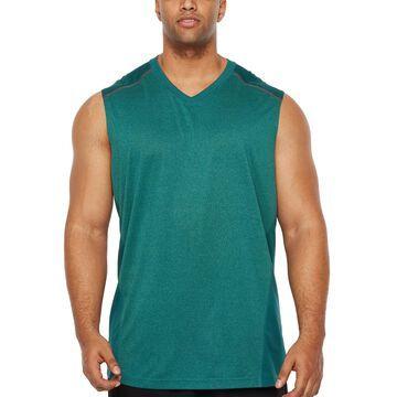 Msx By Michael Strahan Mens V Neck Sleeveless Tank Top Big and Tall