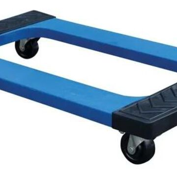 PDOC-1830 Plastic Dolly with Rubber Ends 30 x 18 in. - 1000 lbs