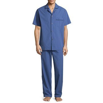 Stafford Broadcloth Pajama Set