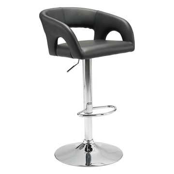 Zuo Modern Hark Adjustable Faux-Leather Stool
