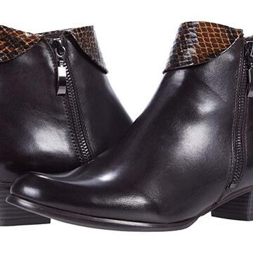 Spring Step Stockholm (Chocolate Multi) Women's Zip Boots