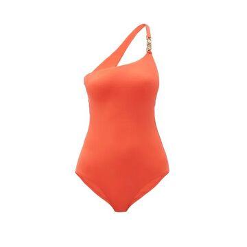 Melissa Odabash - Seychelles One-shoulder Swimsuit - Womens - Red