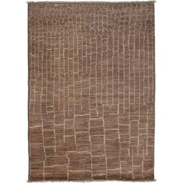 Solo Rugs One-of-a-kind Moroccan Hand-knotted Area Rug 4' x 6'