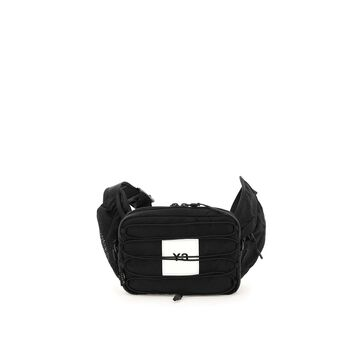 Y-3 belt bag with logo and coulisse