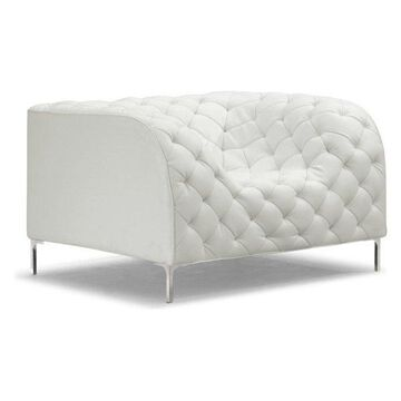Zuo Modern Providence Arm Chair, White