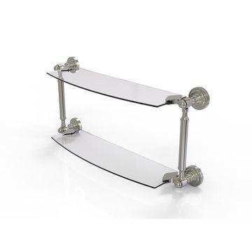 Allied Brass Dottingham-Tier Bathroom Shelf