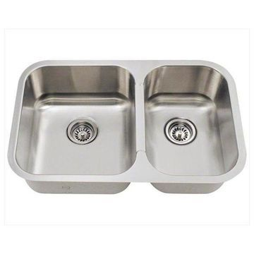 Mr Direct 530L Small offset Stainless Steel Kitchen Sink